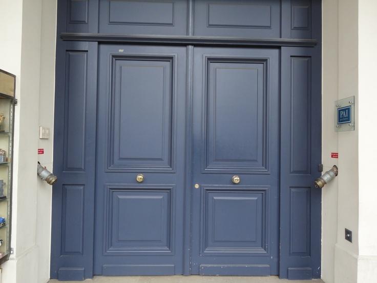 Navy blue front door ideas photo gallery homes for Navy blue front door