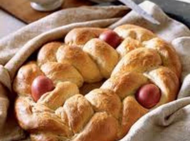 Greek Brioche Easter Bread | Greek Food | Pinterest
