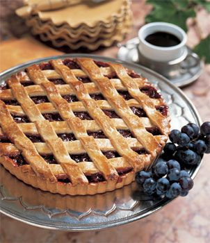 Marsala and Dried-Fig Crostata | Recipe
