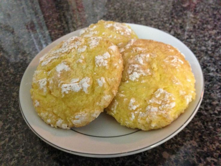 Lemon Cool Whip Cookies. 1 Box Lemon Cake Mix, 2 Eggs, 8 oz Cool Whip ...