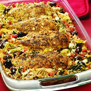 greek chicken casserole recipe back to the cutting board greek chicken ...