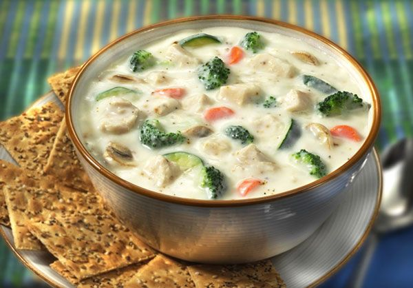Tuna Vegetable Chowder | mediterranean diet | Pinterest