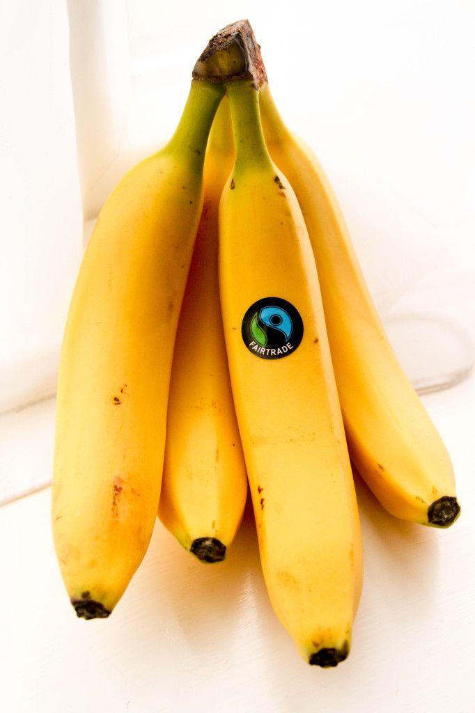 ingredient Fair Trade banana oat bars | Recipes | Pinterest