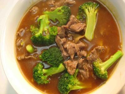 Thai food - Beef Rad Na mmmm | Paradise Steakhouse | Pinterest
