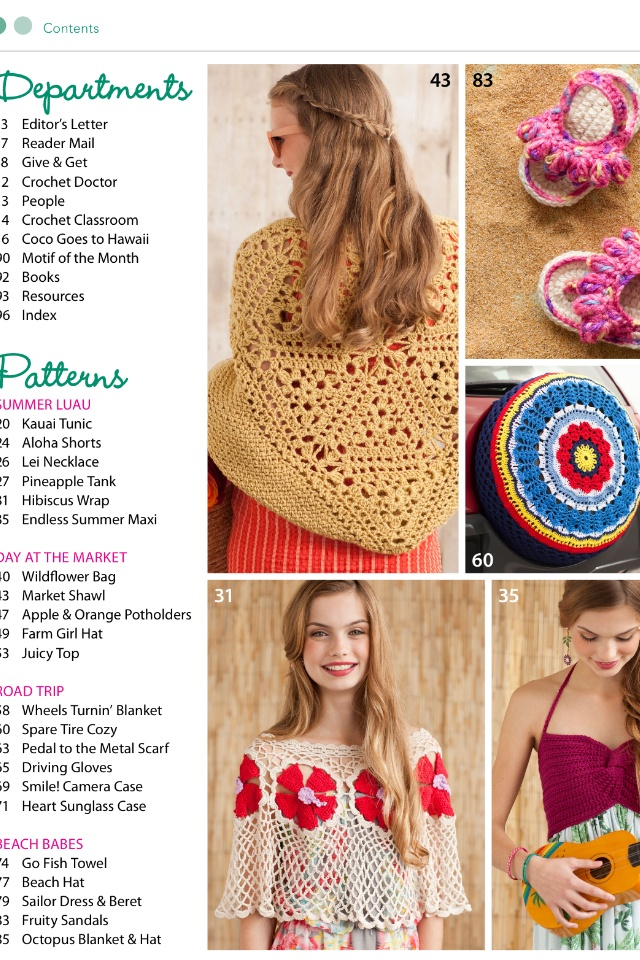 Crochet Magazine Crochet Pinterest