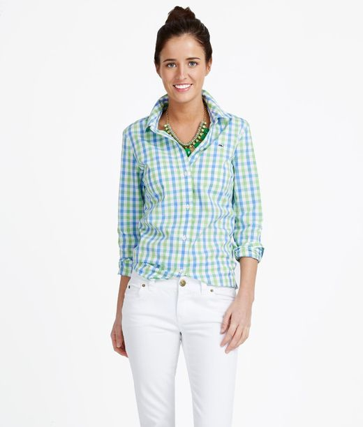 Multi Gingham Shirt