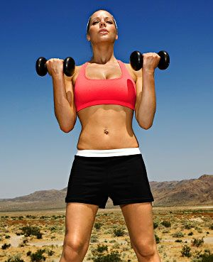 Say it with us: No more crunches! You can do this 15-minute #abs #workout standing up!