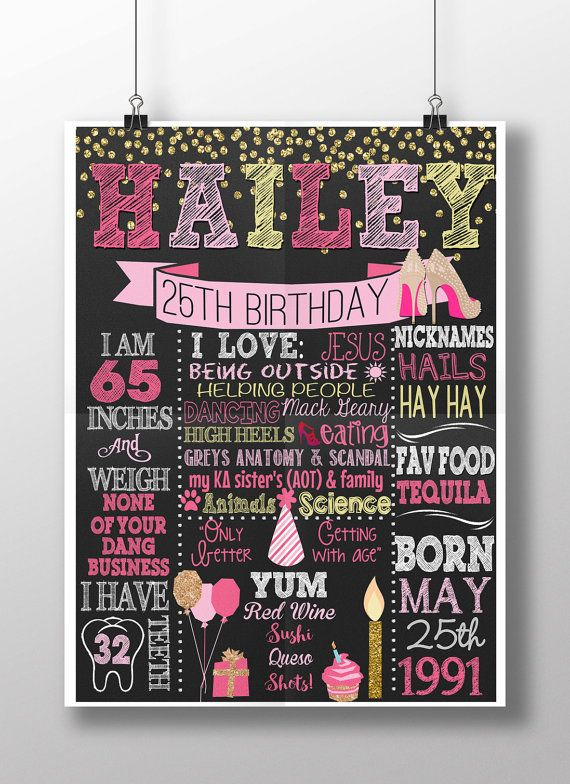 Poster board birthday card ideas for adults