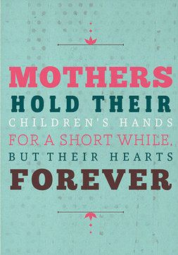 Mothers Hold Wall Art
