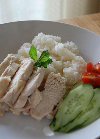 Singapore chicken rice | Foods! | Pinterest