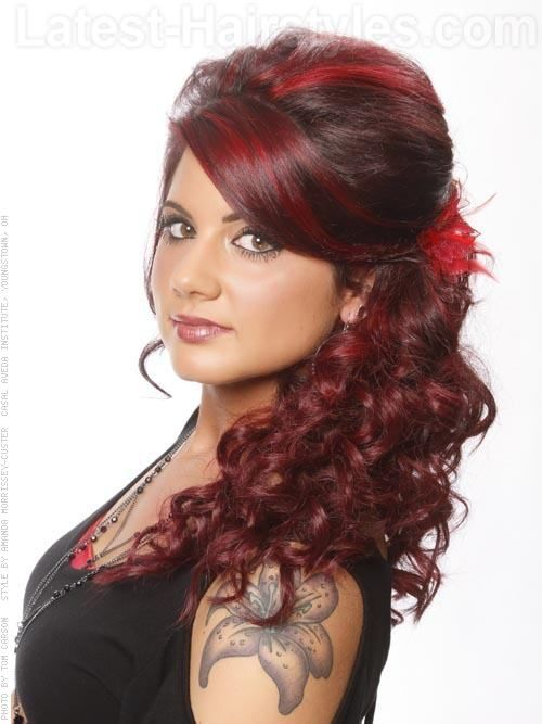 spanish wave weave hairstyles : Southern Belle Long Style with Volume Side View