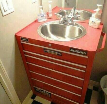 Man Cave Sink Home Pinterest