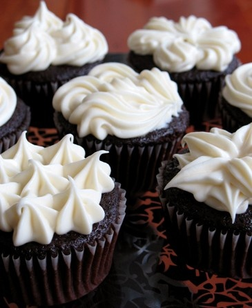 Not Your Average Devil's Food Cupcakes | Delicious Treats ...