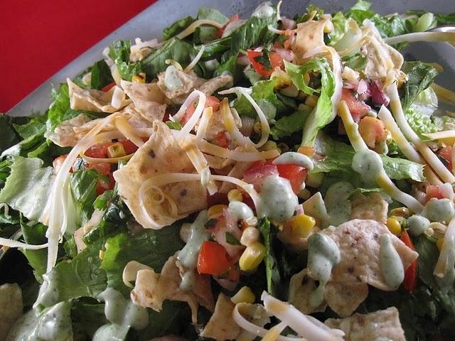 Southwestern salad. | Glorious Food | Pinterest