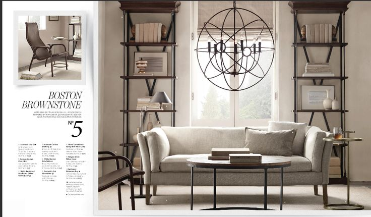 Restoration hardware small spaces design loves pinterest - Small spaces restoration hardware set ...