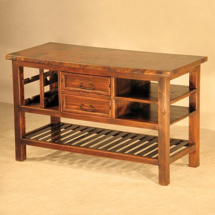 Copper Instincts BUF 5 CU Kitchen Island  Household ~ Furniture  Pi