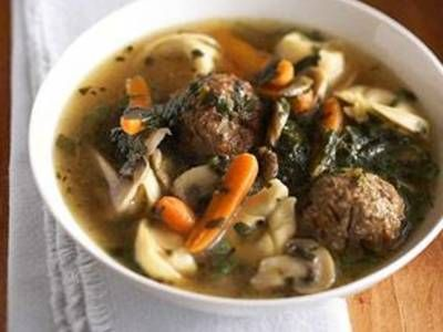 Tortellini, Meatball & Mushroom Soup | Soup, Soup & More Soup | Pinte...