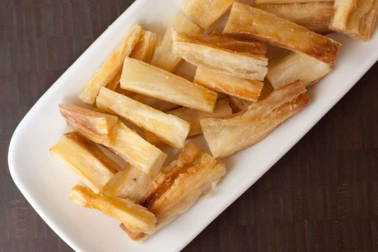 Yuca (Cassava) Fries (from The Domestic Man)