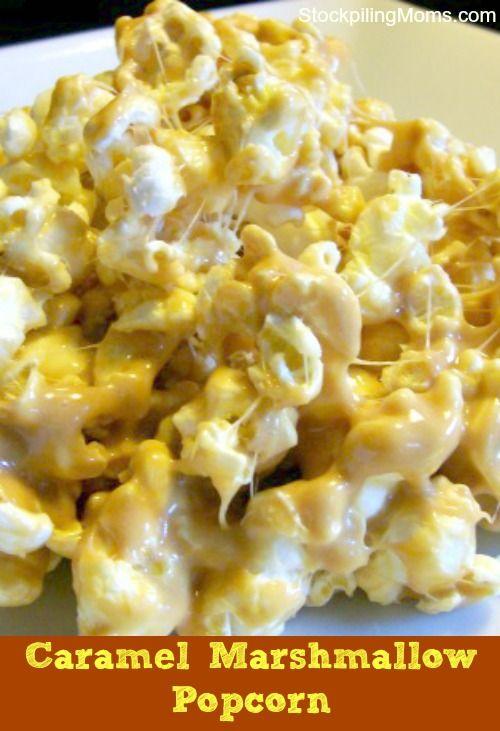 Caramel Popcorn | Recipe