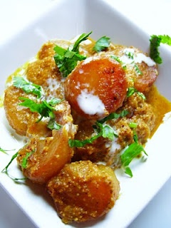 Potatoes in Poppy Onion Gravy | Indian food | Pinterest
