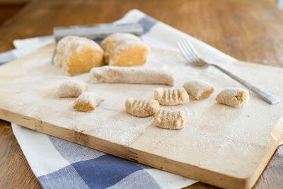 Naturally Ella | Whole Wheat Sweet Potato Gnocchi sub oat flour or gf ...