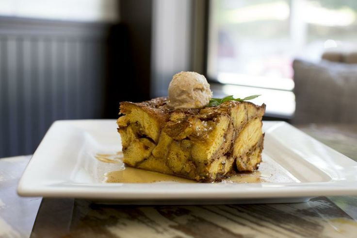 French toast with maple syrup and honey-cinnamon butter - The Boston ...