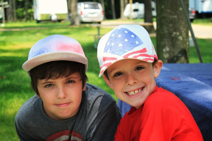 4 of july mlb hats
