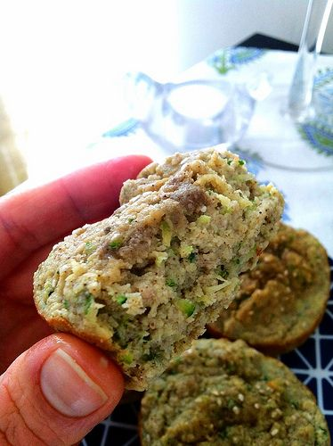 Coconut (flour) Banana Zucchini Muffins :)