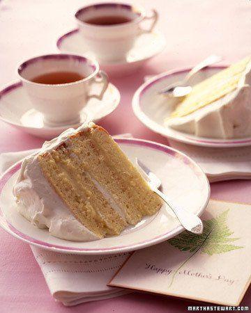 Martha Stewart Genoise Layer Cake