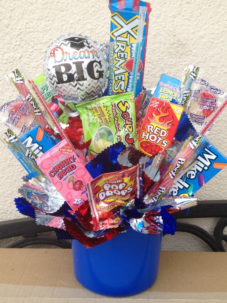Graduation candy centerpiece party ideas pinterest