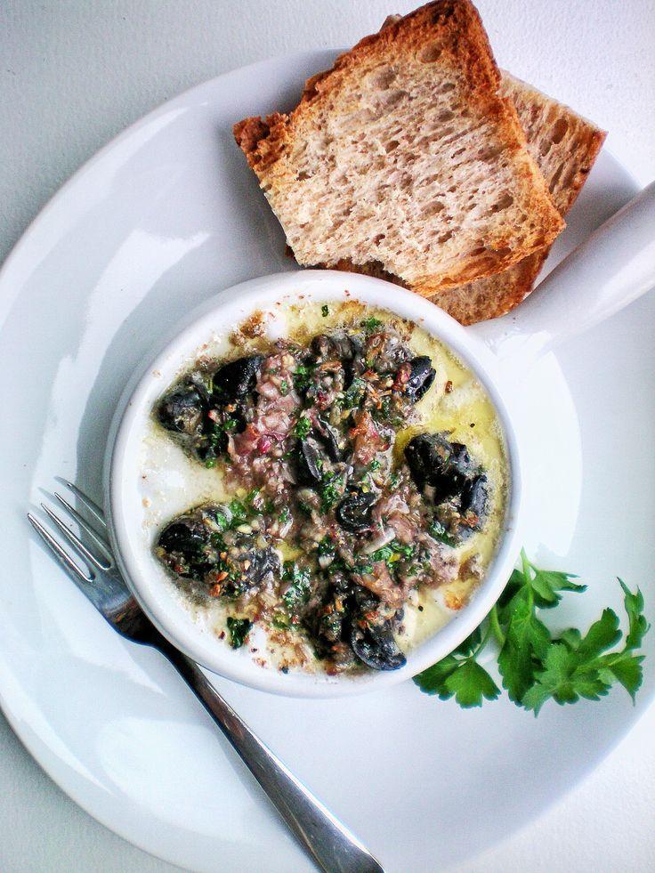 Escargots à la Bourguignonne – Snails with Herb & Garlic Butter