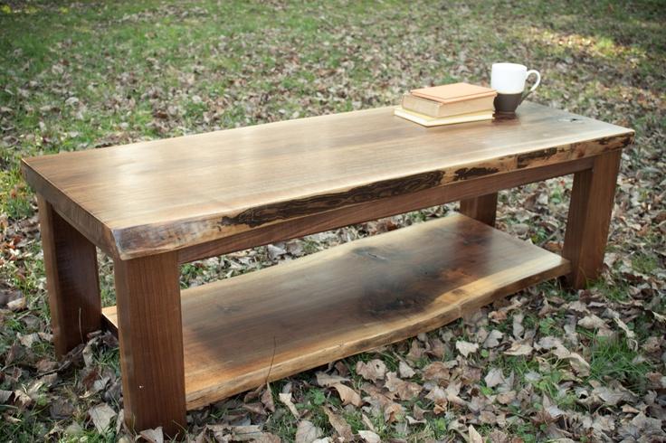 Rustic Coffee Table Via Etsy