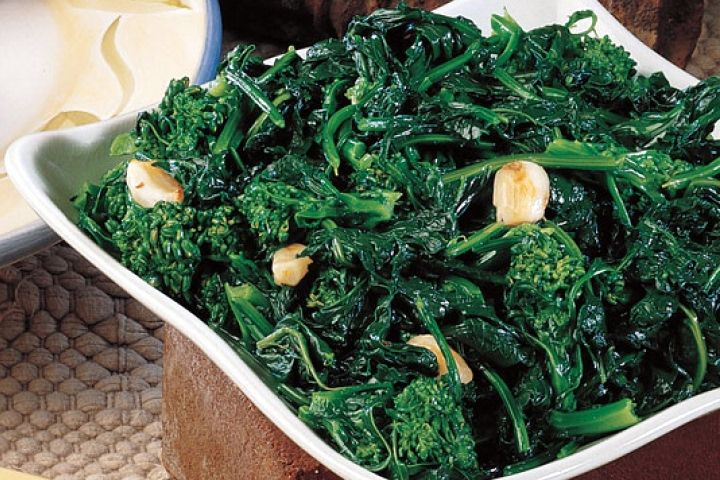 Broccoli Rabe with Melted Garlic Recipe | Broccoli Rabe Recipes | Pin ...