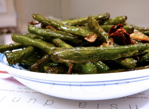 Sichuan dry-fried green beans | Eat Your Veggies--Side Dishes | Pinte ...