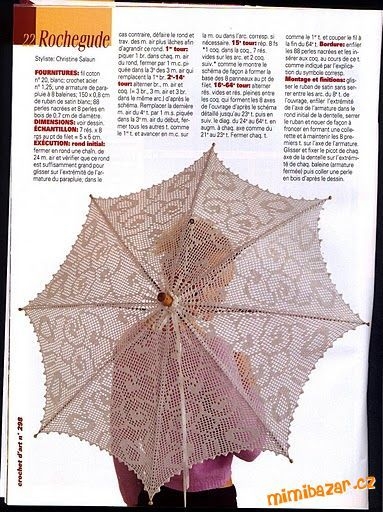 Crochet Umbrella : crochet umbrella Crochet Crafts! Pinterest
