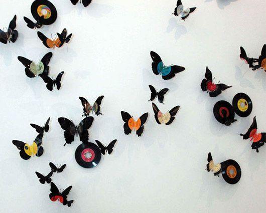 Usa moldes para cortar tus discos de vinilo en las formas - Moldes para pintar paredes ...