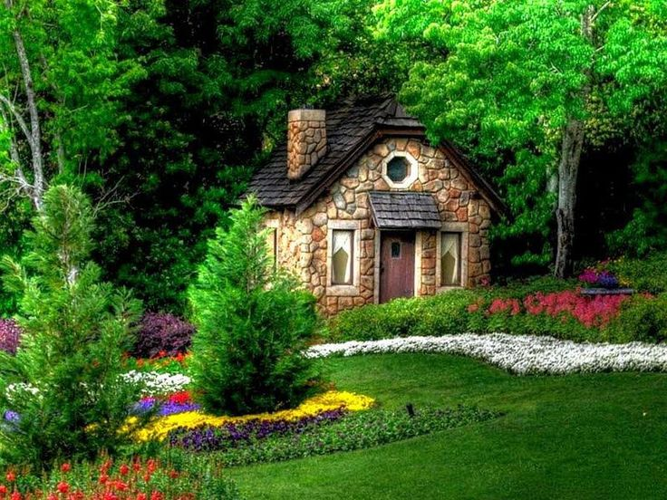 Stone Cottage In The Woods The perfect stone cott...
