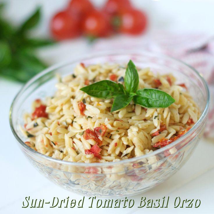 Sun-Dried Tomato Basil Orzo #MyAllrecipes #orzo #sundriedtomatoes ...