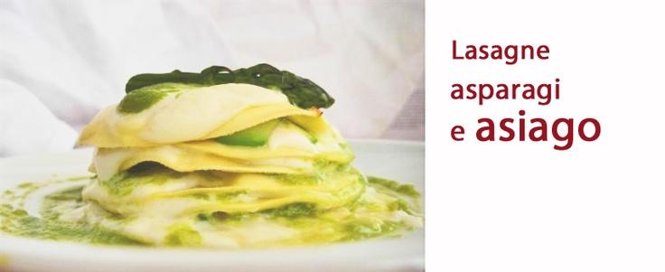 Lasagne asperges et #Asiago AOP | Recettes | Pinterest