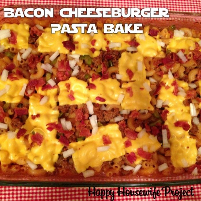 Bacon-Cheeseburger Pasta Bake Recipe — Dishmaps
