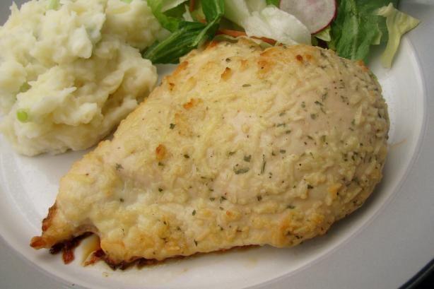 Easy Parmesan Garlic Chicken: Got chicken, parmesan, dressing and ...