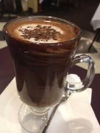 Belgian hot chocolate | Punch and drinks | Pinterest