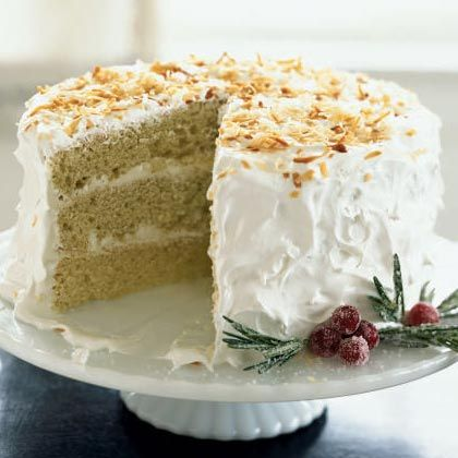 Coconut Cake with Buttercream Frosting | Recipe