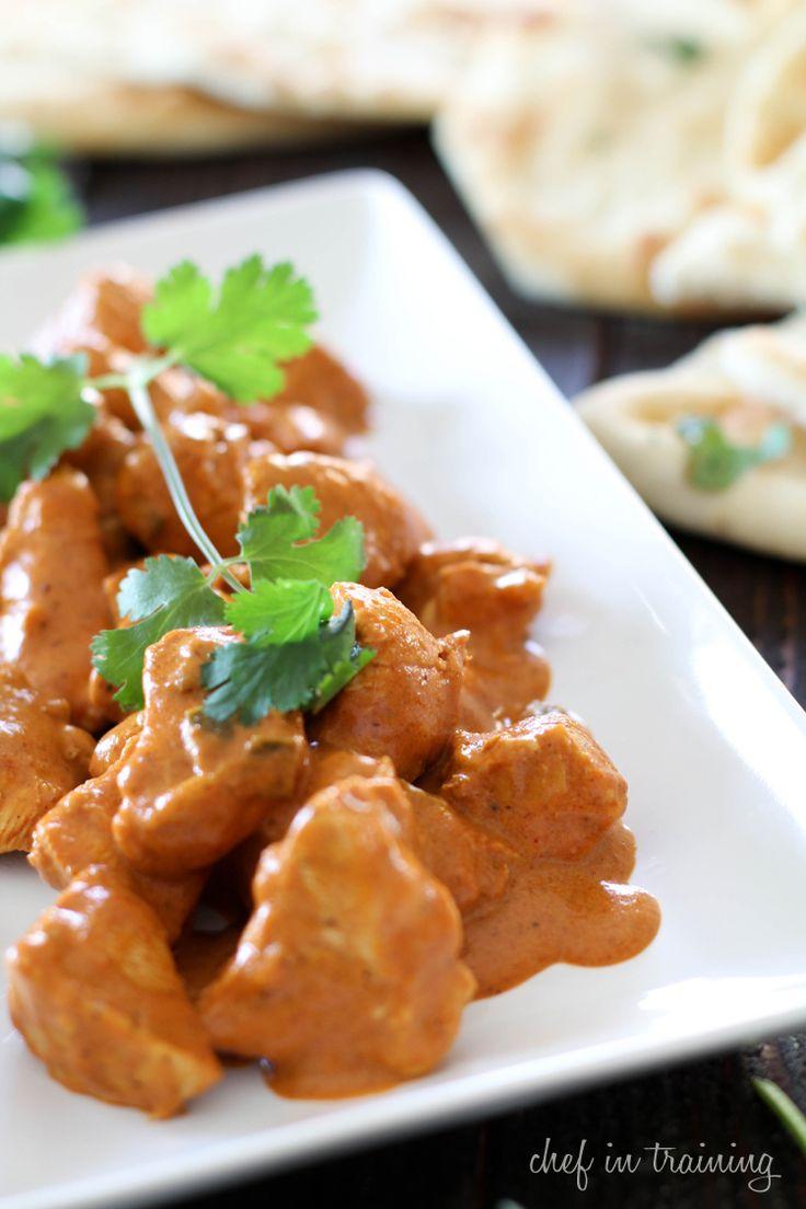 Chicken Tikka Masala on chef-in-training.com ...This dinner is JAM ...