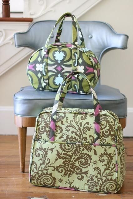 Pattern Travel Bag 82