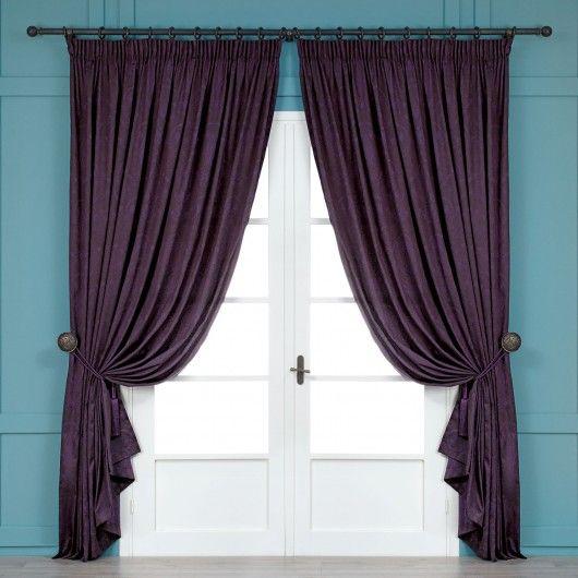 Purple curtains for living room masterbedroom pinterest