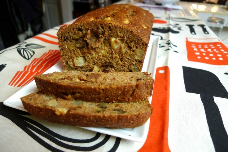 Applesauce Nut Bread | Bread, Muffins etc | Pinterest