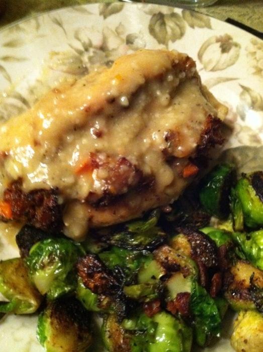 Roasted Stuffed Chicken | Chicken | Pinterest