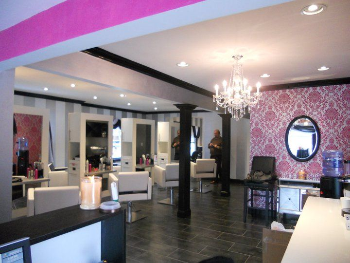 Hair salon wall colors what is the best color to paint for A design and color salon