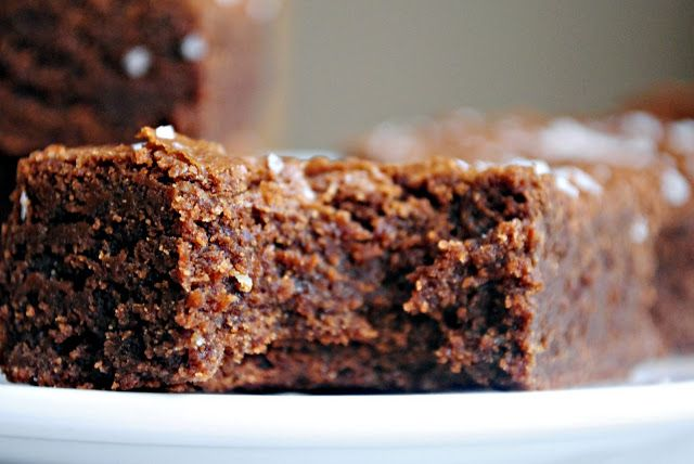 Simply Scratch » Salted Fudge Brownies | brownies and blondies | Pint ...